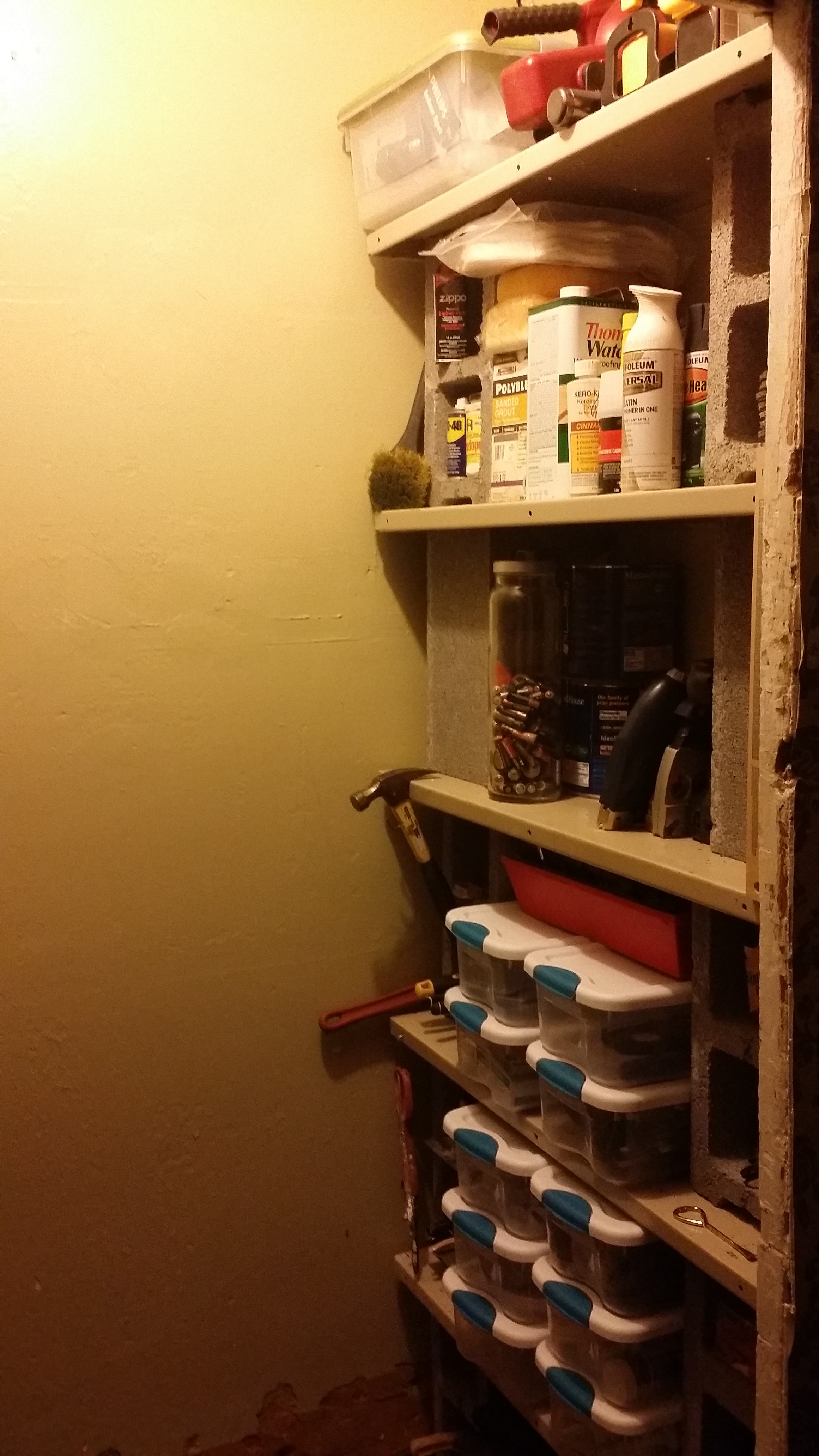 Basement Shelving