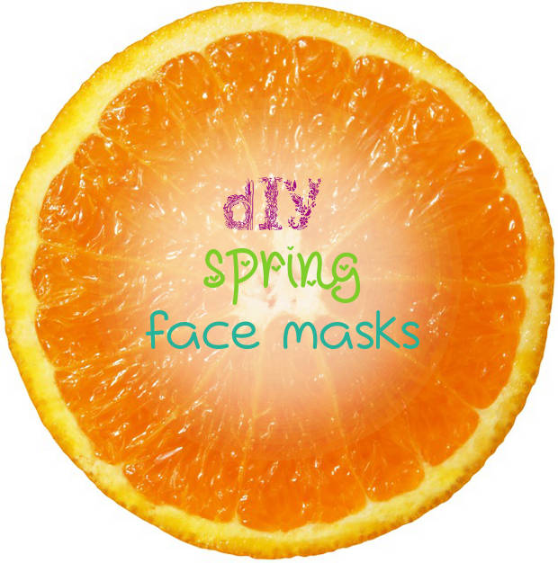 DIY Spring Face Masks