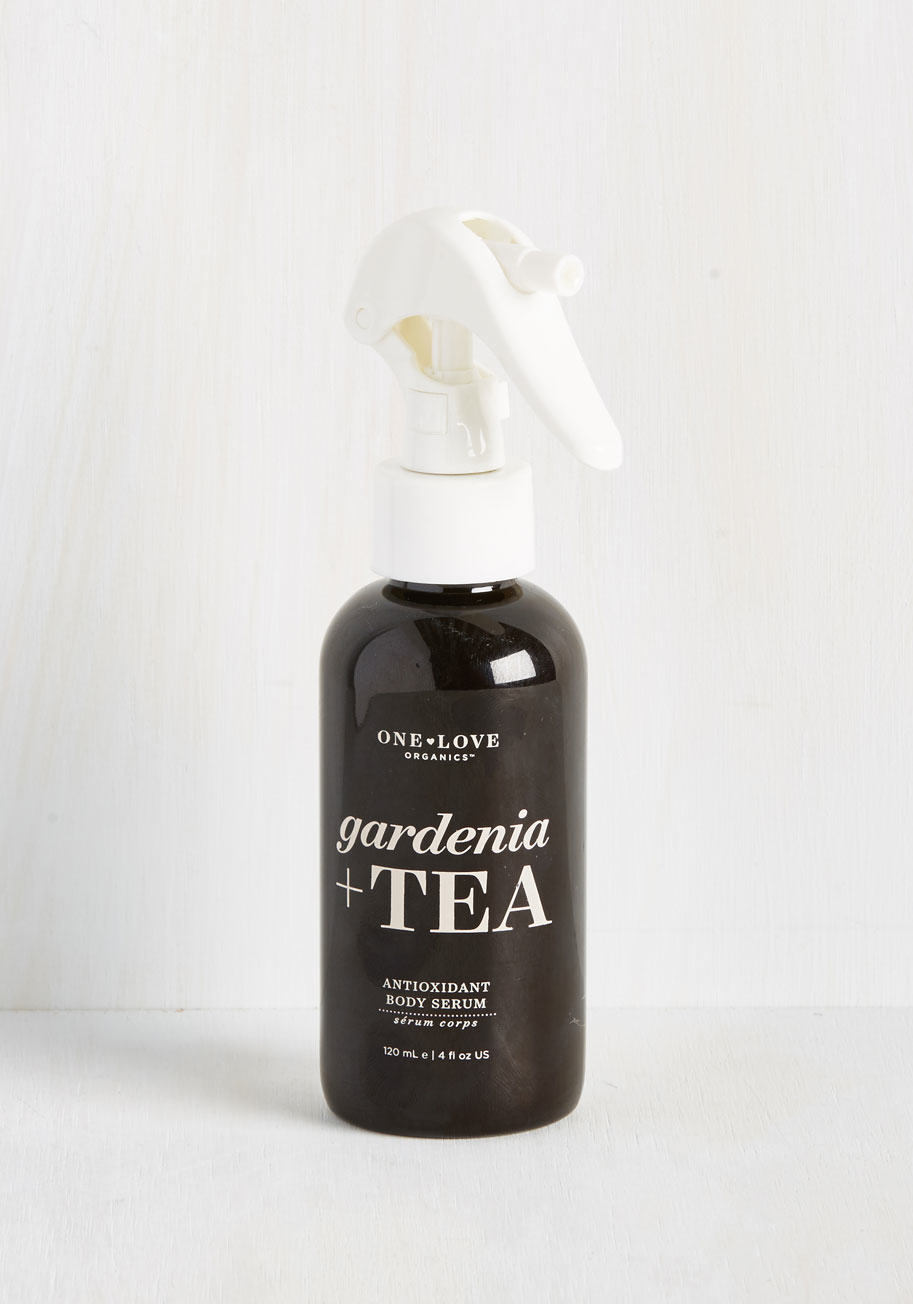 Gardenia + Tea Body Serum---Spa Days at Home