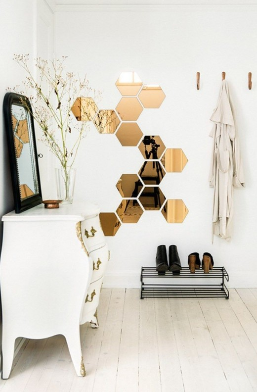 Honeycomb Inspired Interiors
