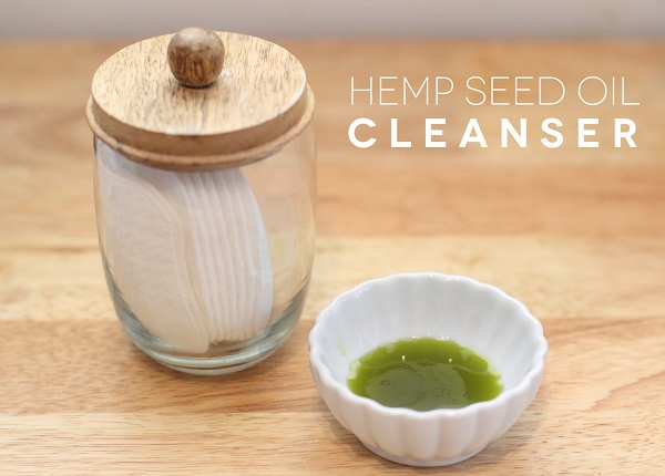 DIY Hemp Seed Oil Facial Cleanser---Spa Days at Home