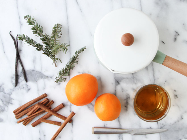 Homemade Winter Potpourri (Stove Top or Slow Cooker)