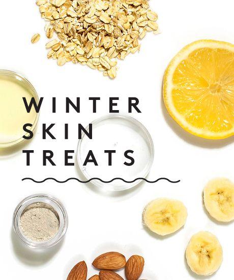 Diy Winter Skin Treats Peach Banana Face Mask And Super