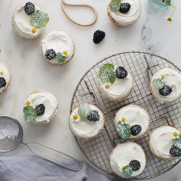 Try This—Honey Cupcakes with Chamomile Buttercream ...