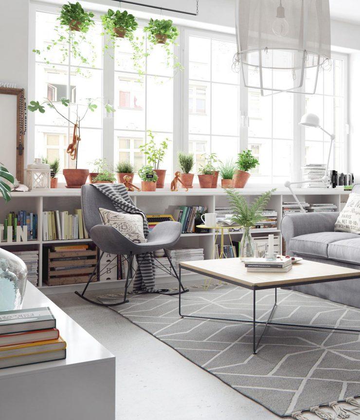 Scandinavian Inspired Interior Fixer Upper Friday