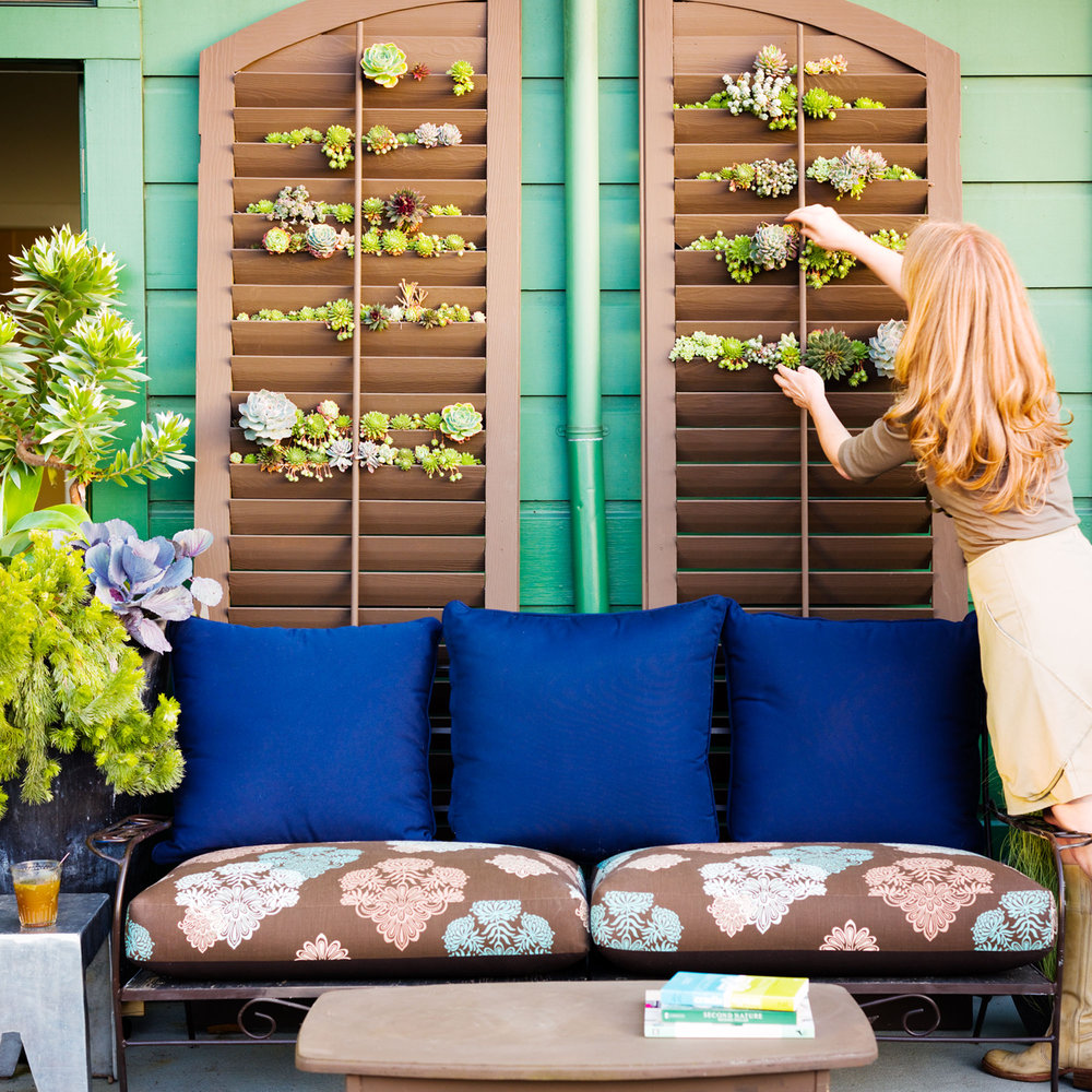 Fixer Upper Friday: Create An Outdoor Oasis In A Small