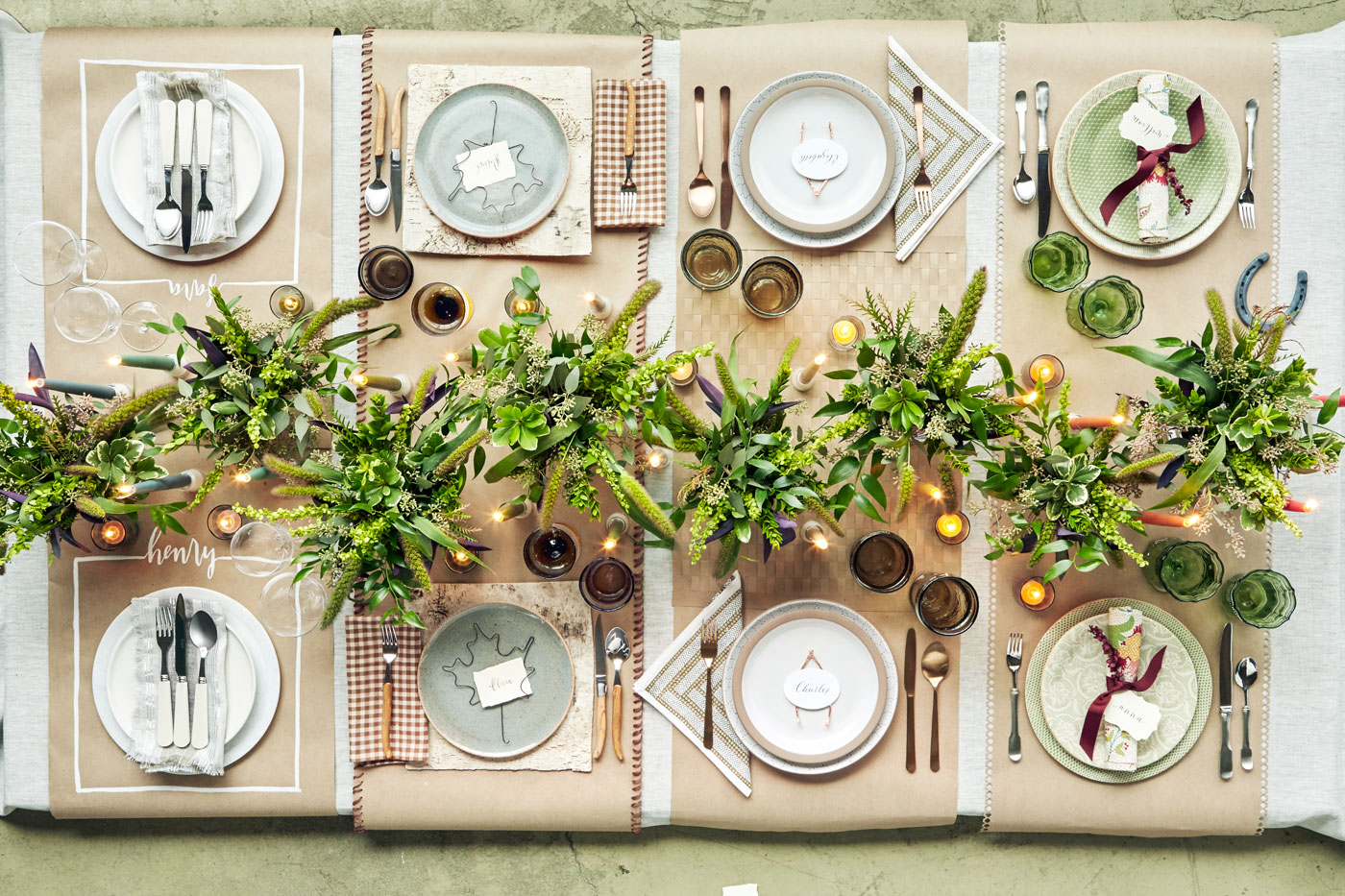 Elegant and easy thanksgiving table settings arsenic for Elegant table setting for thanksgiving