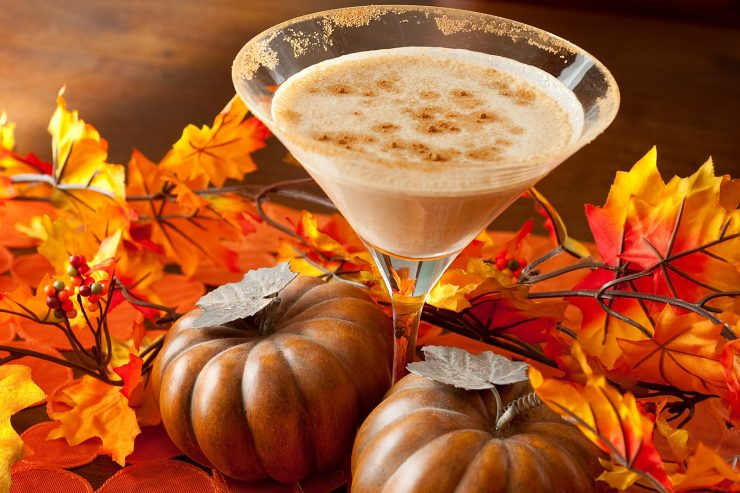 Thanksgiving Perfect Pumpkin Martini