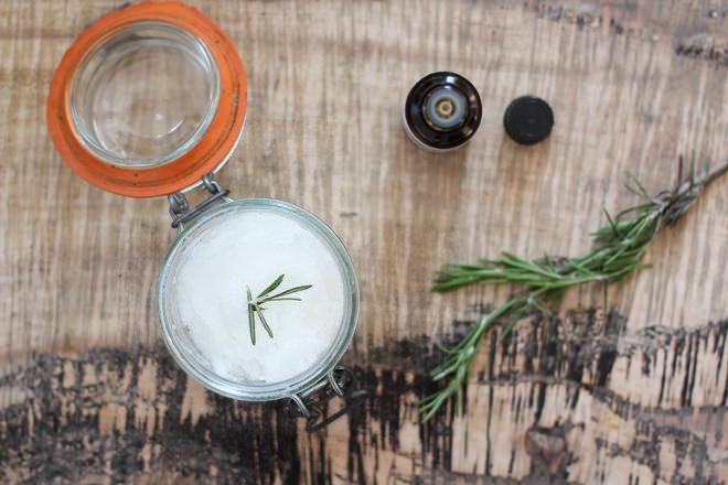 Homemade Rosemary Hair Mask for Dry or Damaged Hair